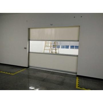 Industrial Fabric PVC Fast Rolling Door