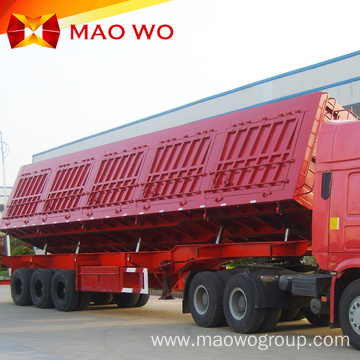 Utlity Tri Axle Hydraulic Side Tipping Trailer