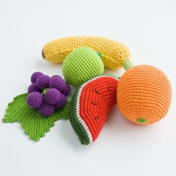 High Quality Baby Handmade Stuffed Toys Fruits