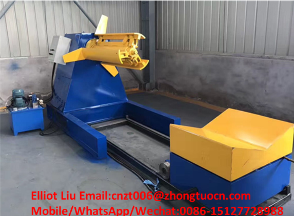 High-end roof tile roll forming machine 3