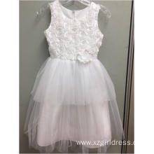 fashion white Princess Dress
