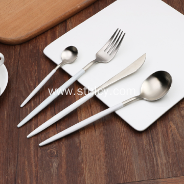 Portable Stainless Steel Fork And Spoon