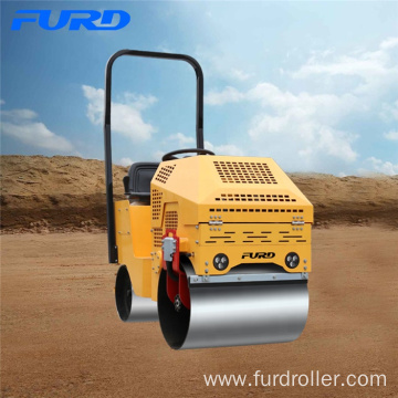 Small Driving 800kg Double Drum Vibrating Roller
