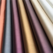 Good Quality Lichee PU Faux Leather for Decoration