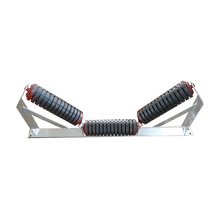 Rubber Impact Conveyor Roller