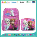 DISNEY FROZEN pink license school backpack set