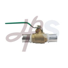 brass PEX ball valve