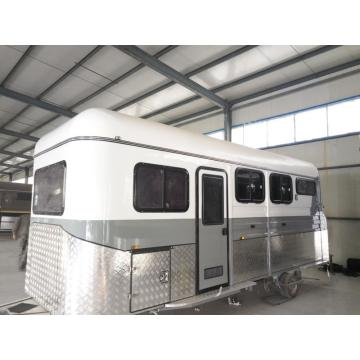 Two Horse Angle Load Horse Camper Trailer