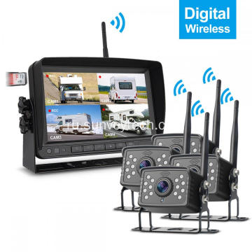 Резервная камера и монитор 1080P Digital Wireless Kit