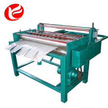 Cut to length line coil slitting machine