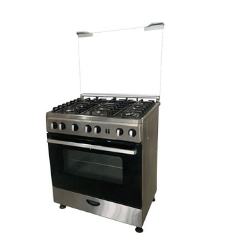 Professional Free Standing Gas Oven With 5 Burners