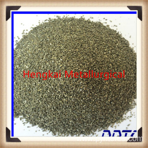 Ferric sulfide for grinding wheel