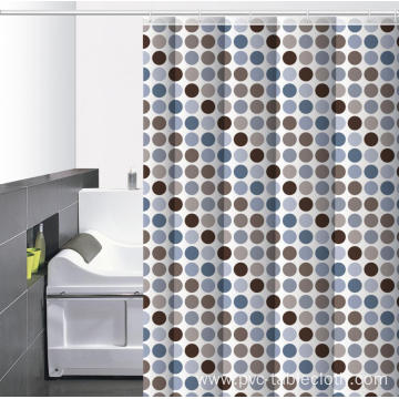 Waterproof Bathroom printed Shower Curtain 72x80
