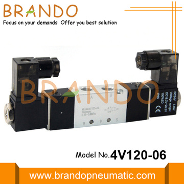 4V120-06 AirTAC Type 5/2 Air Pneumatic Solenoid Valve