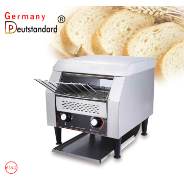 Electric conveyor toaster bread baking machine