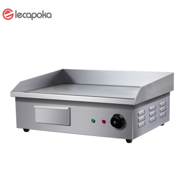Commercial Electric Griddle Cooking Flat