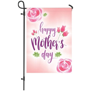 High quality Double Sided custom design garden flag