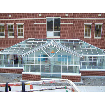 Glass Laminated Safety Lean To Sunroom Garden House