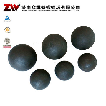 Forged Ball Mill Grinding Media For Mine 125MM