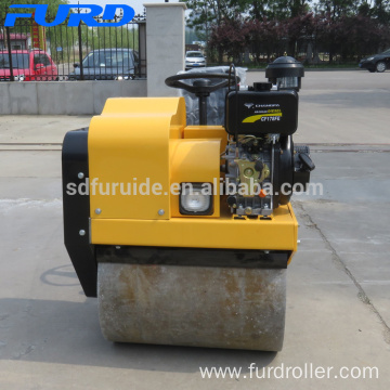 700kg Small Vibratory Riding Compactor Roller (FYL-850)