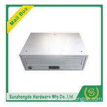SMB-065SS China Manufacturer Free Standing Stainless Steel Mailboxes Residential