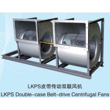LKPS Double-case Belt-drive Centrifugal Fans