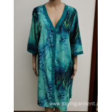 Ladies rayon dress