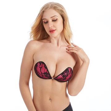 Sexy Strapless Invisible Silicone Push Up Bra