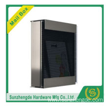 SMB-067SS Modern Looking Outdoor Stainless Steel Standing Mailboxes