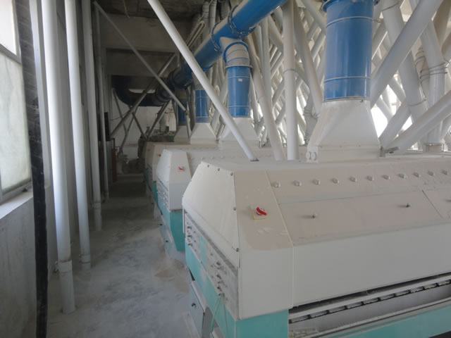 200 tons flour mill