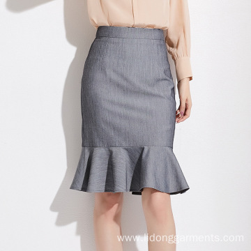 Loose Casual Office Lady Sexy Vent Skirt Dress