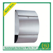 SMB-013SS Customize High Quality City Decorative Single Stainless Steel Mailbox