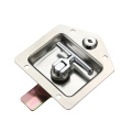 Silvery Industrial Cabinet Hardware SS Panel Locks