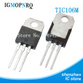 5PCS TIC106M TO-220 106M TO-220 bidirectional thyristor 4A 600V is new and
