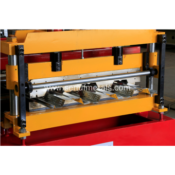 915mm Steel Floor Metal Deck Scaffolding Roll Forming Machine