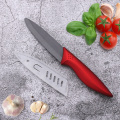 4 Inches Red Handle Ceramic Utility Knife