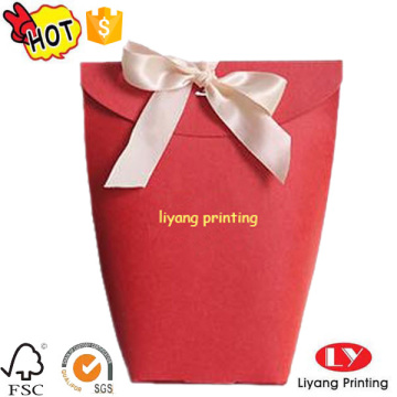 Custom Cardboard Box With ribbon Gift Box