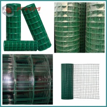 Green PVC Garden Fence for Protective