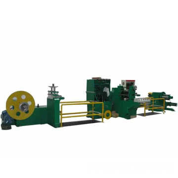 Precision metal giant roll slitting machine