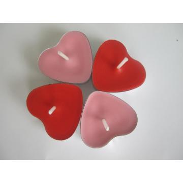 Home Decoration Heart-shaped Tealight Candle in Bulk