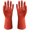 Lime Reinforce PVC Coated Gloves
