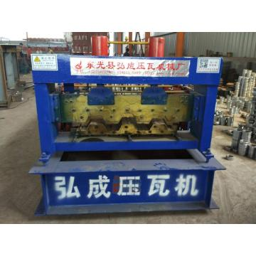 Steel Floor Deck Cold Roll Forming Machine