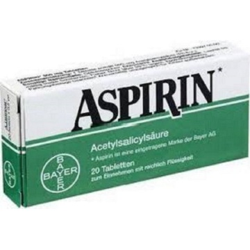 aspirin and   ibuprofen