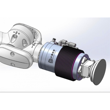 Force control system function active contact flange