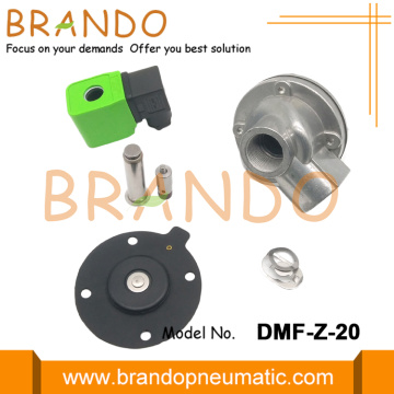 DMF-Z-20 SBFEC Type 3/4'' Right Angle Pulse Valve