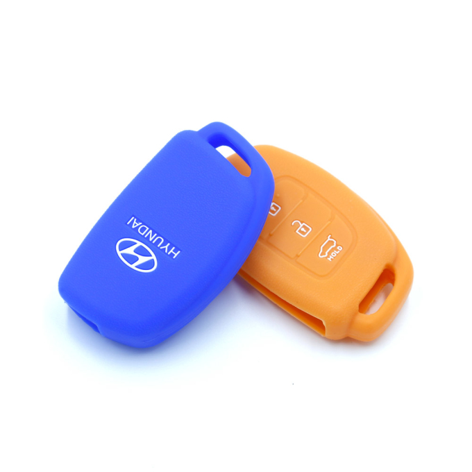 Hyundai Silicon 3 Buttons Key Case