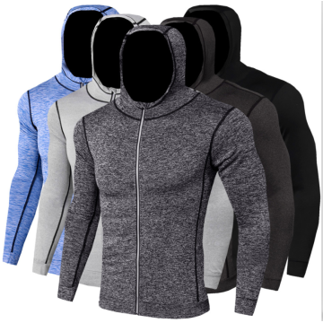 Men's autumn and winter sports shirt with hoodies
