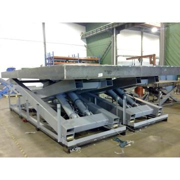 Equipment car lifts  hydraulic