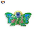Colorful butterfly lapel pin badge for gifts