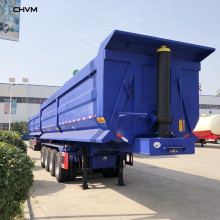 4Axle 45CBM Dump Trailer For Sale